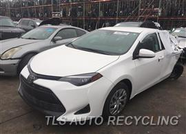 Parting Out Stock# 9012BR 2019 Toyota Corolla