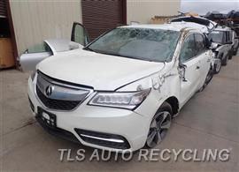 Parting Out Stock# 7211BR 2016 Acura Mdx