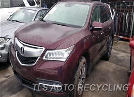 Parting Out Stock# 9770OR 2016 Acura Mdx