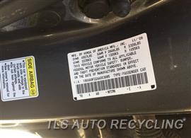 2010 Acura TL Parts Stock# 9453BR
