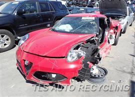 2015 Alfa Romeo 4C COUPE Car for Parts