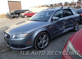Parting Out Stock# 7455GY 2007 Audi A4 Audi