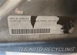 2011 Audi A4 AUDI Parts Stock# 10334O