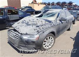 Parting Out Stock# 7250YL 2013 Audi A4 Audi
