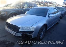 Parting Out Stock# 8522PR 2005 Audi A8 Audi