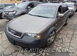 Parting Out Stock# 7114OR 2002 Audi Allroad