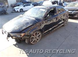 Parting Out Stock# 7412GR 2016 Audi S3 Audi
