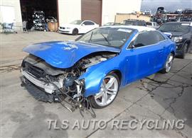 Parting Out Stock# 8215YL 2010 Audi S5 Audi