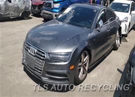 Parting Out Stock# 00288Y 2016 Audi S7 Audi