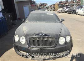2006 BENTLEY CONT-GT Parts Stock# 8615BL