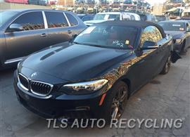 Parting Out Stock# 8617BR 2016 BMW 228i