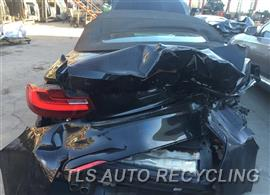 2016 BMW 228I Parts Stock# 8617BR