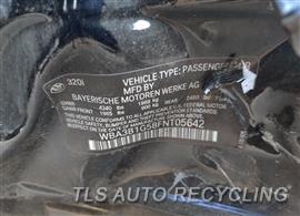 2015 BMW 320I Parts Stock# 10395B