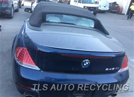 Parting Out Stock# 8626BR 2005 BMW 645ci