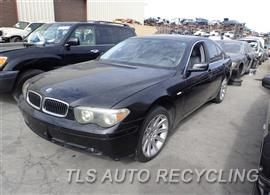 Used BMW 745I Parts