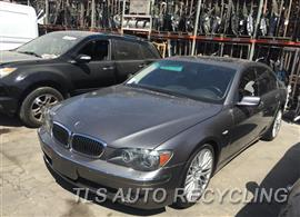 Parting Out Stock# 9586BL 2008 BMW 750i