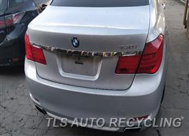2010 BMW 750I Parts Stock# 9720RD