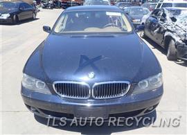 2006 BMW 750LI Parts Stock# 7252BK