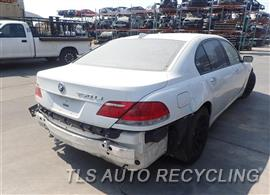2006 BMW 750LI Parts Stock# 8423PR