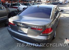 2003 BMW 760LI Parts Stock# 6490PR