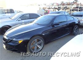 Parting Out Stock# 7419GY 2006 BMW M6