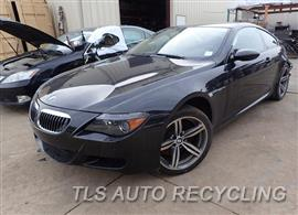 Parting Out Stock# 8022GY 2007 BMW M6