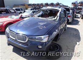 Parting Out Stock# 7205YL 2015 BMW X3