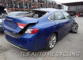 2015 Chrysler 200 Parts Stock# 7501BR
