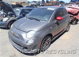 Parting Out Stock# 8269YL 2012 FIAT 500 Fiat
