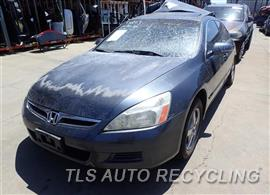 Parting Out Stock# 7209BL 2006 Honda Accord