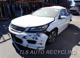 Parting Out Stock# 8349OR 2014 Honda Accord