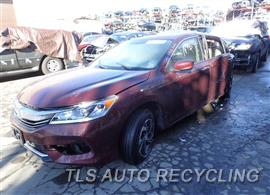 Parting Out Stock# 7514PR 2016 Honda Accord