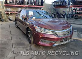 Parting Out Stock# 00809W 2016 Honda Accord