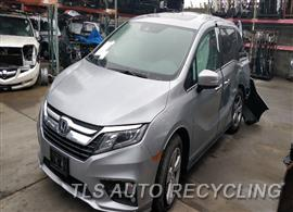 Parting Out Stock# 9775BL 2018 Honda Odyssey