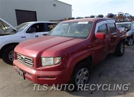 Parting Out Stock# 7518GY 2006 Honda Ridgeline