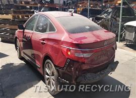 2013 Hyundai AZERA Parts Stock# 00259R