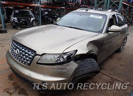 Parting Out Stock# 8014BR 2004 Infiniti Fx35