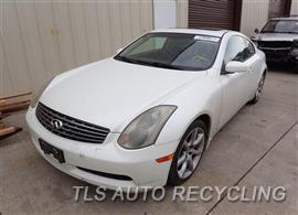 Parting Out Stock# 7143PR 2004 Infiniti G35