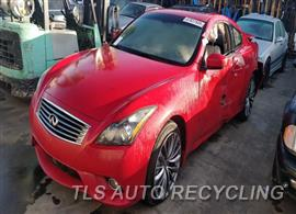 Parting Out Stock# 00024B 2011 Infiniti G37
