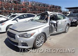 infiniti_q50_2014_car_for_parts_only_254515_01 2014 infiniti q50 headlamp assembly 260104hb0a used a grade infiniti q50 main wiring harness at creativeand.co