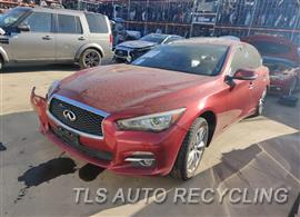 Parting Out Stock# 10262B 2014 Infiniti Q50