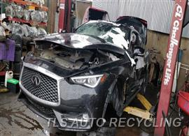 Parting Out Stock# 9767GY 2019 Infiniti Q60
