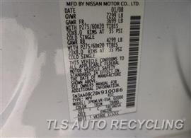 2008 Infiniti QX56 Parts Stock# 10324G