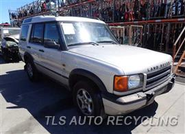 2001 Land Rover DISCOVERY Car for Parts