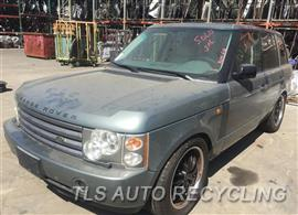 Parting Out Stock# 9502PR 2003 Land Rover Range Rov