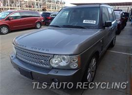 Parting Out Stock# 7117BK 2007 Land Rover Range Rov