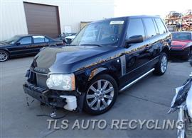 Parting Out Stock# 7570RD 2007 Land Rover Range Rov