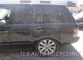 2008 Land Rover Range Rover Parts Stock# 8386YL
