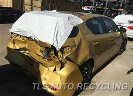 Parting Out Stock# 9108RD 2011 Lexus Ct200h