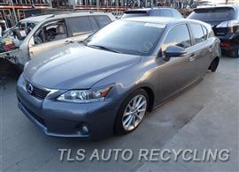Parting Out Stock# 7447BR 2012 Lexus Ct200h